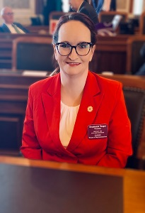 Representative Stephanie Yeager